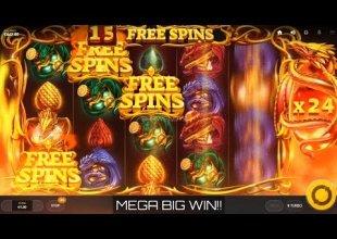Dragons Fire - Mega Win (50 Spin Trigger)