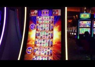Wonder 4 Tower Buffalo Gold 1.3k Handpay bonus win minimum bet