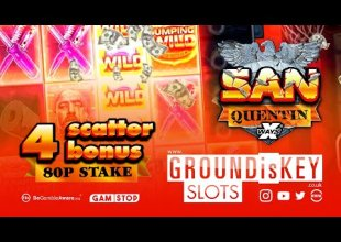 4 Scatter bonus 80p Stake San Quentin