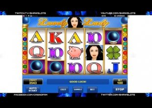 Lovely Lady - Mega Win (100+ spins)   Amatic