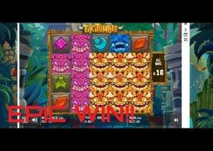 TIKI TUMBLE - EPIC WIN!! (PushGaming)