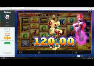 Genie Jackpots - £60 bonus buy - biggish win