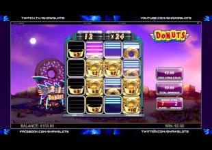 Donuts - MEGA WIN!! (€2 Bet)