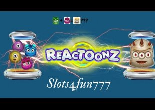 Big Win on Reactoonz