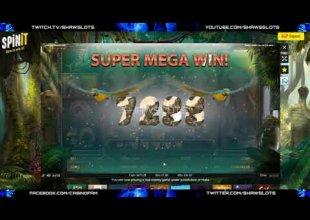 Jungle Spirit - MEGA WIN (Elephant) €1 Bet
