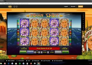 40p bet full screen top symbol indian spirit 1018x