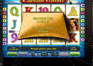Captain Venture - £3 Stake!