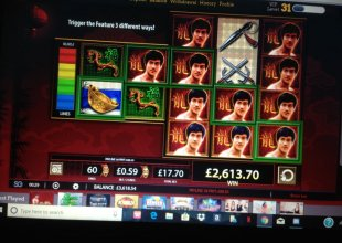 £17.70 spin on Bruce lee