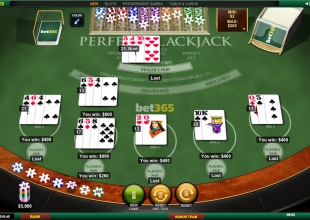 Blackjack hand - All boxes & pairs max stake