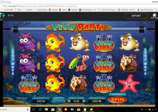 Fish Party - 1825x on 30p stake!!!!