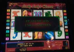 Lucky ladys charm - 878x (land based casino)