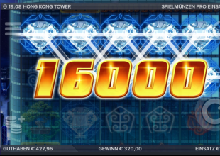 Hong Kong Tower 2€ Bet