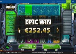 Battleship direct hit - Major jackpot