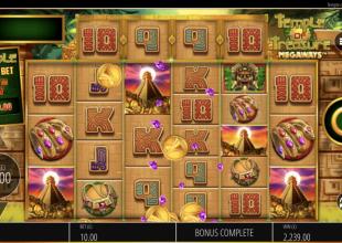 Nice win on temple of treasure!