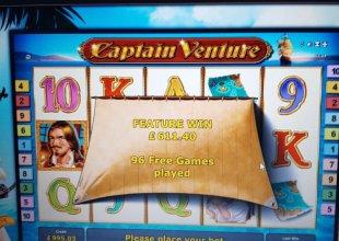 Captain Venture £1 Bonus