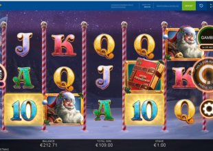 Book of Christmas 4 bonuses in 100 spins