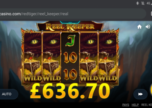 Reel keeper seems a decent slot if you hit