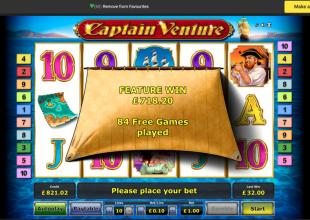 Captain Venture £1 stake !!
