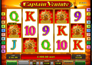 Captain Venture 80p Stake 5 Scatters!!!