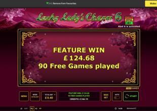 Small stake Lucky Lady Bonus !!