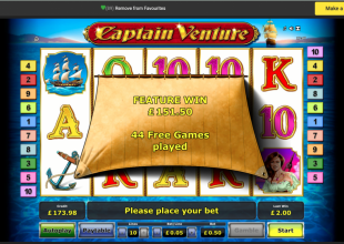 Tinkering on Captain Venture  50p stake