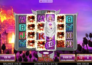 Lil' Devil 10p stake base game bonus Be My Angel (9's) ????x