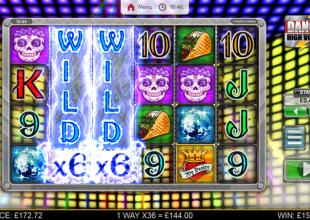 40p Danger Skulls Wild X6's and £2 Disco Balls Wild X6's