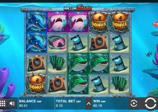 Razor Shark 10p stake 800x win from free money
