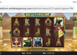 Legacy of Egypt easy bonus