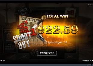 Deadwood shootout bonus