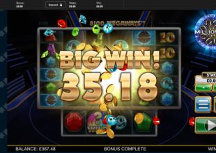 60p Tinkering on Millionaire ...