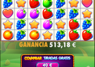 fruit party base Game spin 1282x 0.40 bet