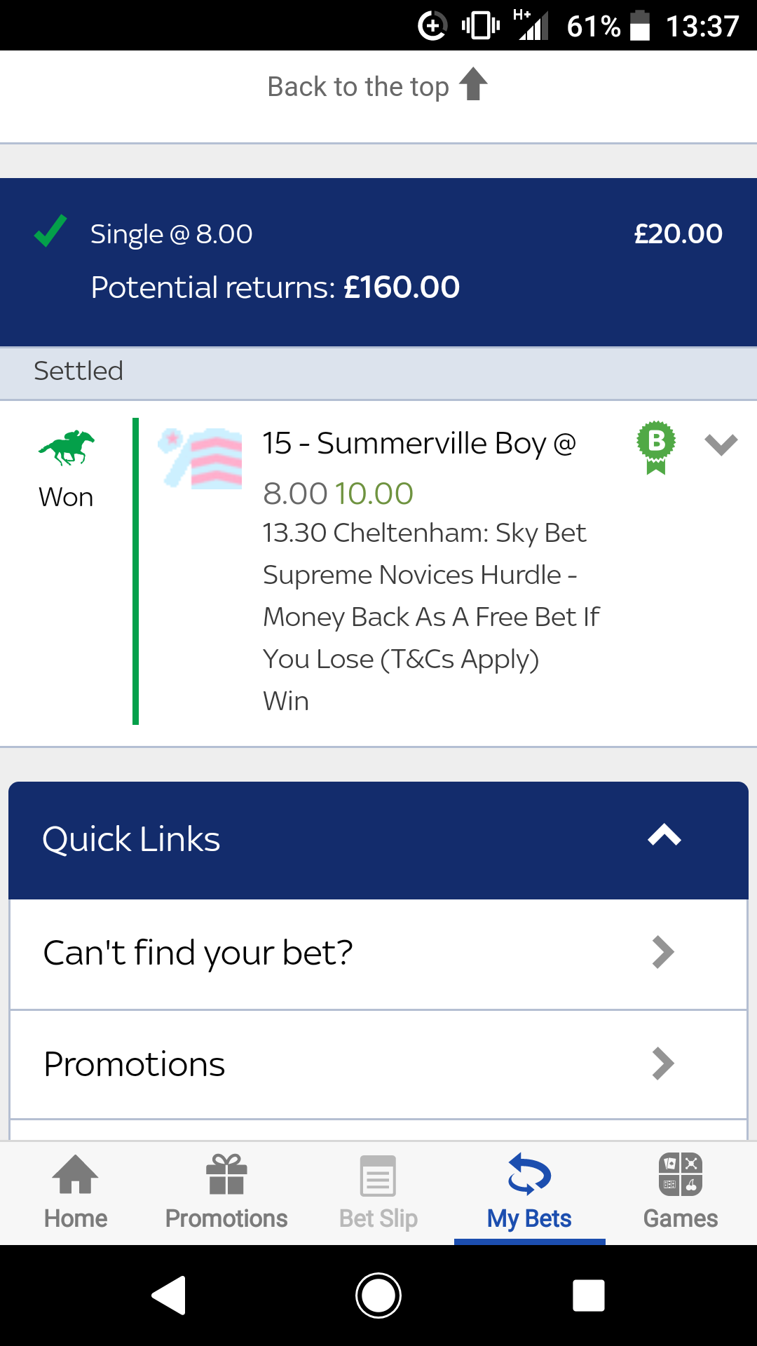 Get the fudge in there Summerville boy 👌🏻 - Horse Racing