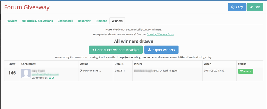 Playstation 4 Giveaway Result *WINNER ANNOUNCED* - Casino News