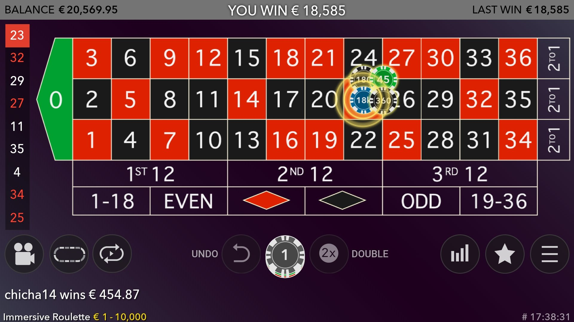 Immersive Roulette Roulette The Gambling Community
