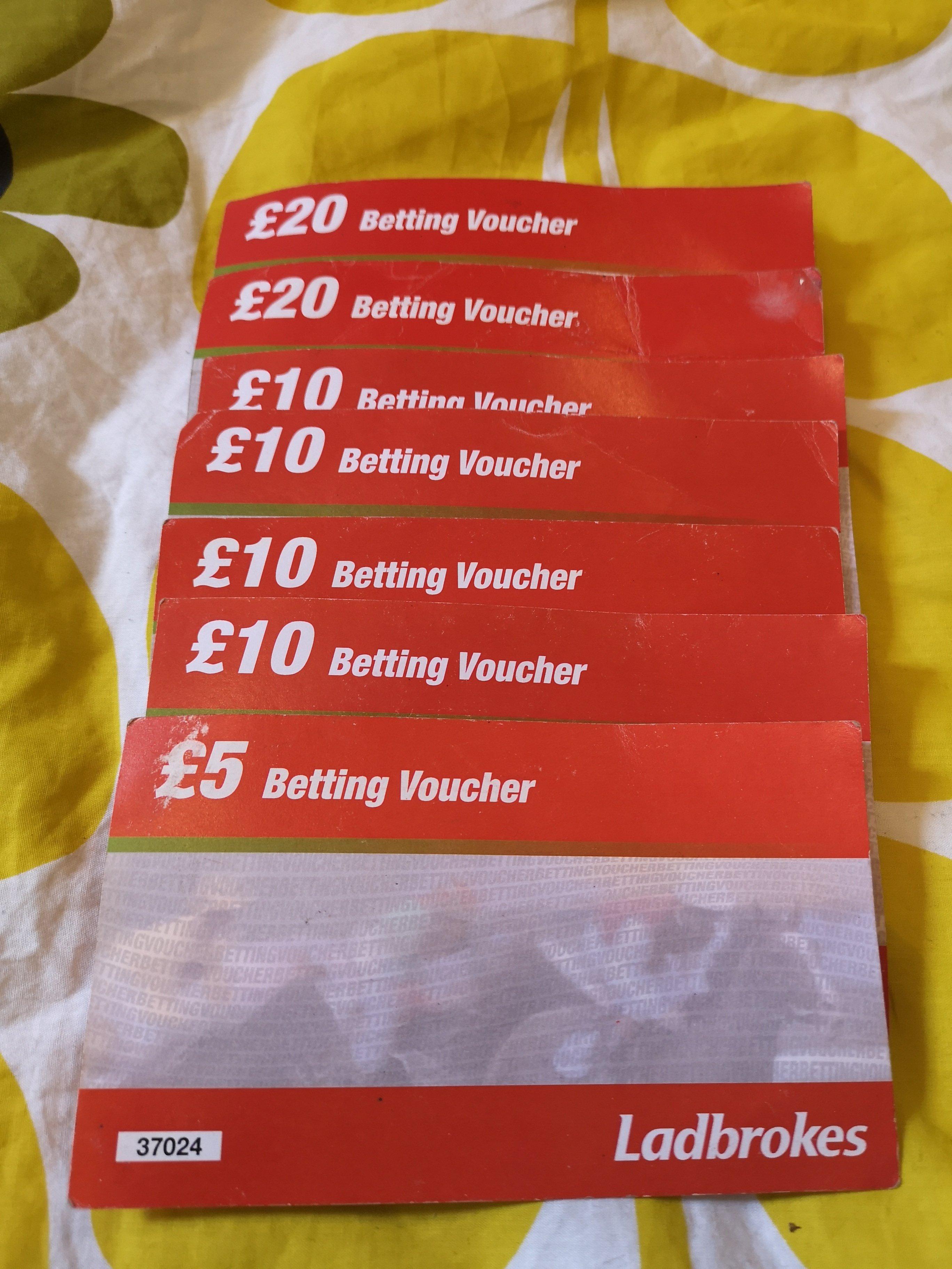 Ladbrokes betting vouchers sports betting world cup odds