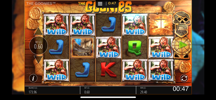 The Goonies Slot Win