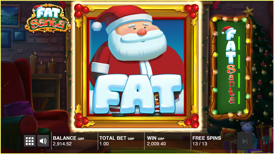 Fat Santa Paytable TGC