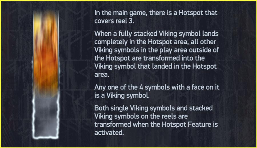Netent Vikings Paytable TGC