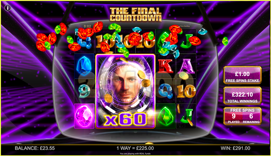 BTG The Final Countdown Big Win