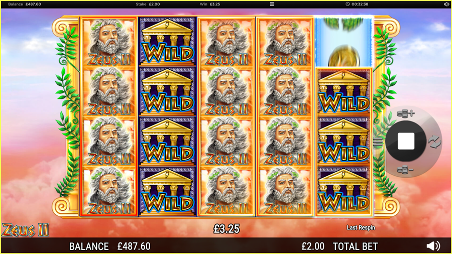 Zeus 2 Big Win
