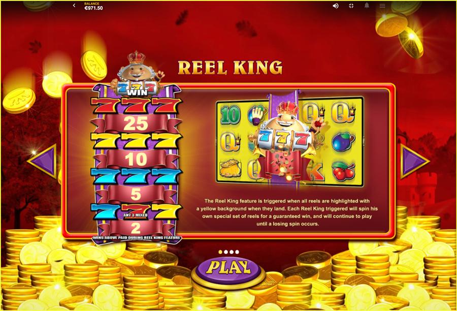 Reel King Mega PT TGC