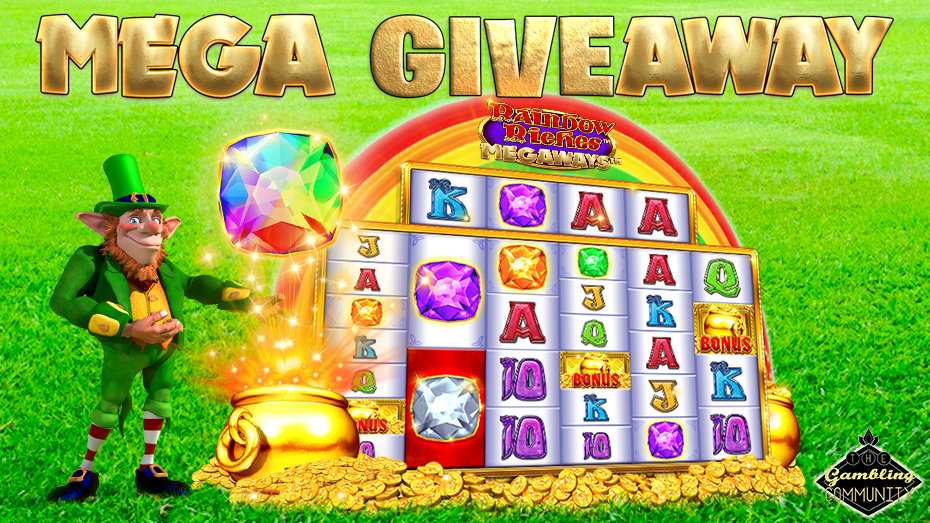 Rainbow Riches Megaways TGC Giveaway